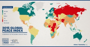 Globalpeaceindexresultsmap